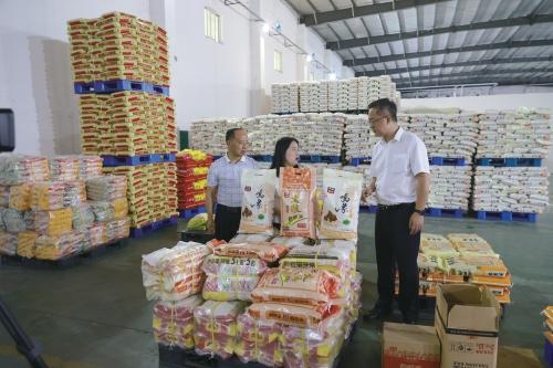 广西来宾市:金融服务拉长稻米产业链